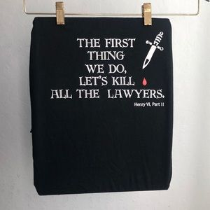 Lawyer Henry VI, Part II T-Shirt Graphic Tee